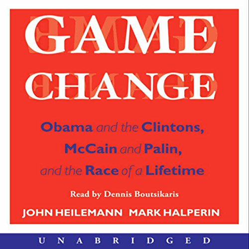 Game Change audiobook cover art