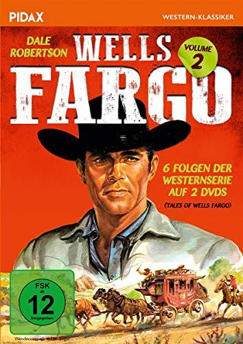 Wells Fargo, Vol. 2 / Weitere 6 Folgen der legendären Westernserie mit Dale Robertson (Pidax Western-Klassiker) [2 DVDs]