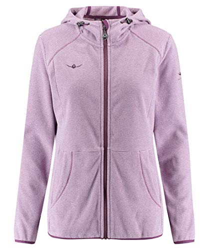KAIKKIALLA Damen Tiia Fleece Jacke, Wineberry, XS
