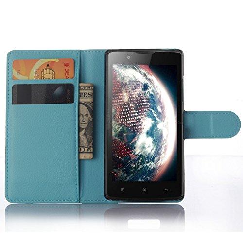 NEKOYA Lenovo A2010 Hülle,Lenovo A2010 Lederhülle, Handyhülle im Brieftasche-Stil für Lenovo A2010.Schutzhülle mit [TPU Innenschale] [Standfunktion] [Kartenfach] [Magnetverschluss]