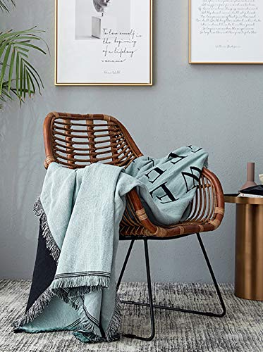 Fumaker sprei, modern, gebreid, jacquard-sofa, sofa-plaid