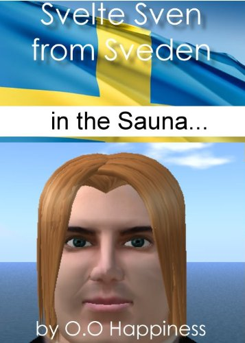 Svelte Sven from Sveden - in the sauna (English Edition)