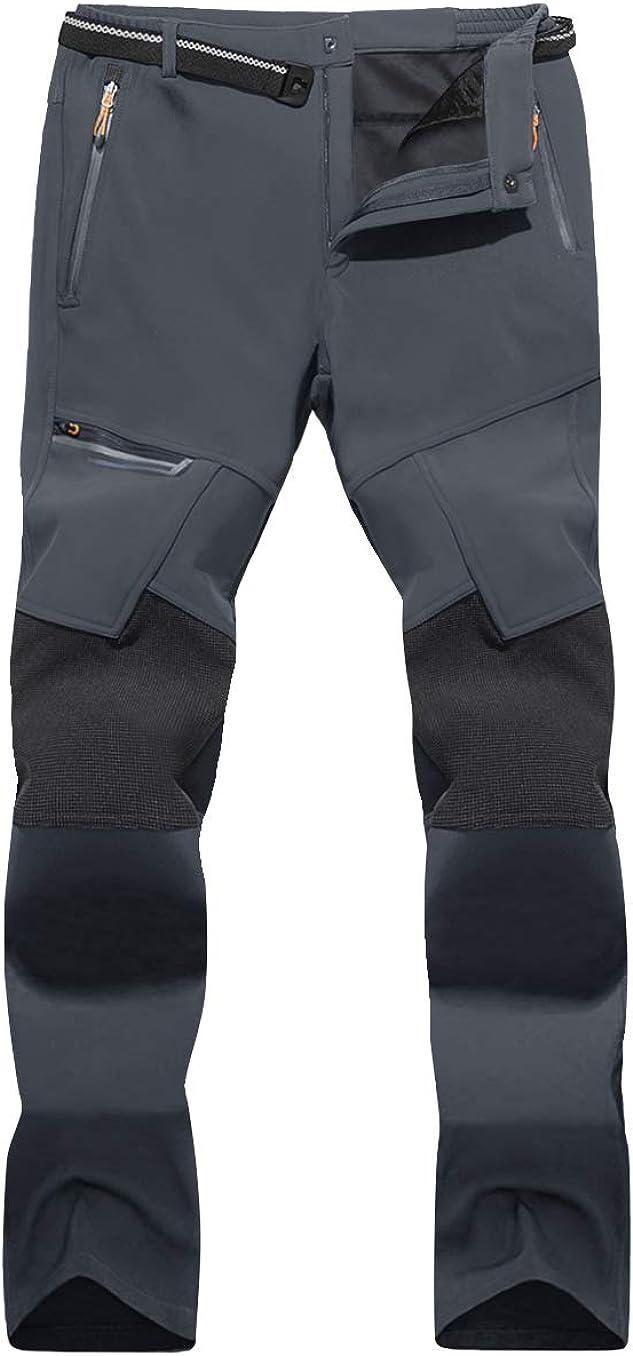 MAGNIVIT Sale Special Price Men's Outdoor Hiking Pants Large special price Pocket Zip Water Resistant 4