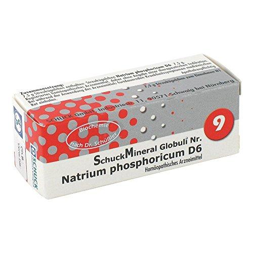 SCHUCKMINERAL Globuli 9 Natrium phosphoricum D6 7.5 g