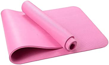 Antislip yogamatten Lichtgewicht materiaal voor yoga, pilates en vloeroefeningen Stretching Home Gym Workout-Donkerpaars