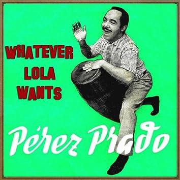 Vintage Dance Orchestras No. 273 - LP: Whatever Lola Wants