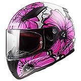 LS2 Helmets Motorcycles & Powersports Helmet's Full Face Rapid (Poppies, XXX-Large)