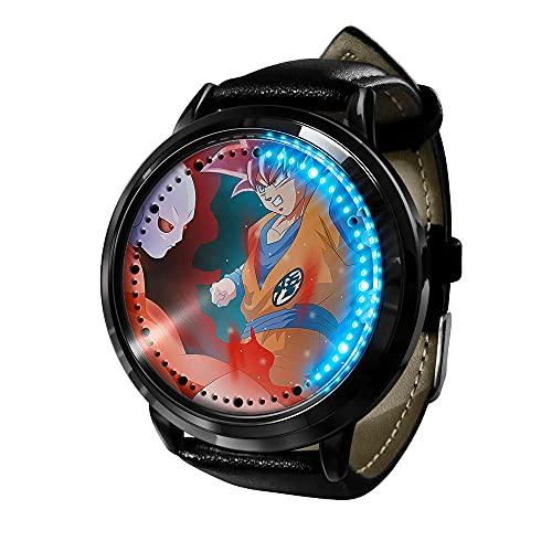 Anime Dragon Ball Z Goku Series LED Touch Watch Relojes de Novedad Relojes Deportivos Reloj Personalizado Unisex WristWatches Mejor Regalo de cumpleaños-Anime2