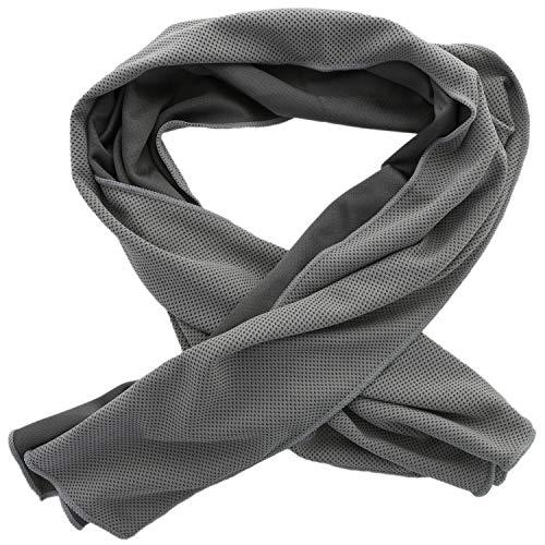 XiRRiX Handtuch kühlend/Sporthandtuch Fitness mit Cooling Kühl Effekt - Kühltuch 100x30 cm - Sport Kühlhandtuch für Damen/Herren - ideal für Outdoor/Reise/wandern/Abkühlung im Sommer
