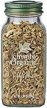 Simply Organic Fennel Seed, Certified Organic   1.9 oz   Foeniculum vulgare Mill.