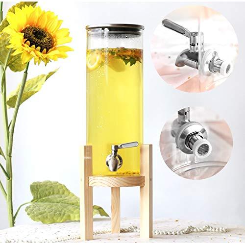 CSQHCZS-FQ Creatieve dranktoevoer met lekvrije tappen, watertoevoer voor heet water/sangria/limonade koude gebakken koffie ++