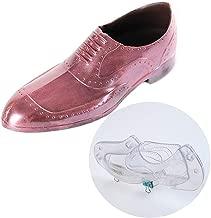 MoldFun 3D Men's Leather Shoe Chocolate Mold 8.5