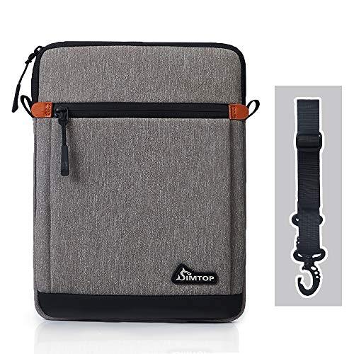 10.5 Inch Tablet Sleeve, SIMTOP Tablet Case Bag Compatible with 2019 New 10.2'' iPad 7/10.5'' iPad Air 3/10.5'' iPad Pro / 11'' iPad Pro / 9.7'' iPad / 10'' Surface Go / 10'' Galaxy Tab