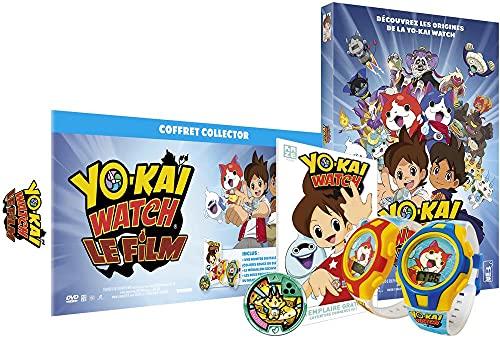 Yo-kai Watch, le Film - Édition Collector DVD Limitée - Inclus : Le Film, La Montre Digitale Yo-Kai Watch, Le Médaillon Exclusif KOMAJIRO S et Le début du manga (48 pages) [Édition Collector]