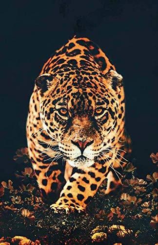 JHGJHK Arte Animal Jaguar Tigre Pintura Mural Pintura al óleo Sala de Estar hogar Moderno decoración de Pared Pintura 7