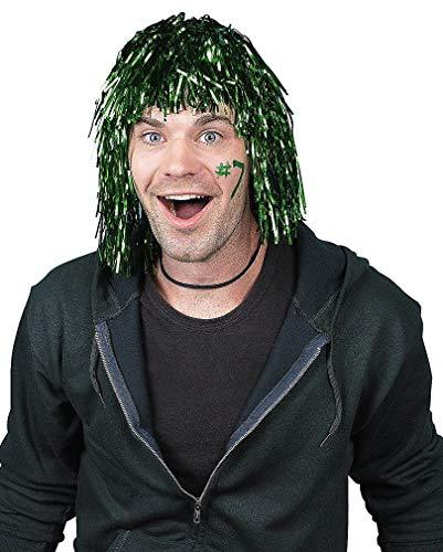 Vert Tinsel perruque