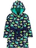 Simple Joys by Carter's Albornoz con Capucha Pajama-Tops, Dinosaurio Verde, 4-5T