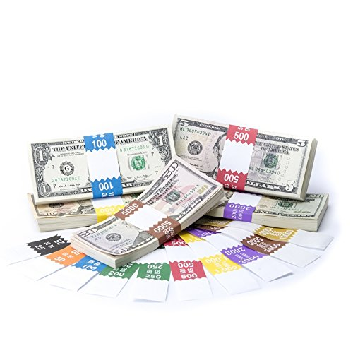 ABA Barred Currency Band Complete Set $25 - $10,000, 100 of Each
