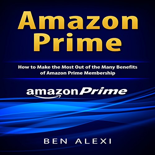 Amazon Prime audiobook cover art