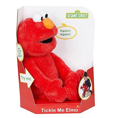 Sesamstraße kitzeln mich u. Sprechendes Elmo weiches Plüsch-Spielzeug