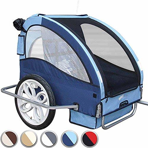IInfantastic Trasportino rimorchio bici carrello per...