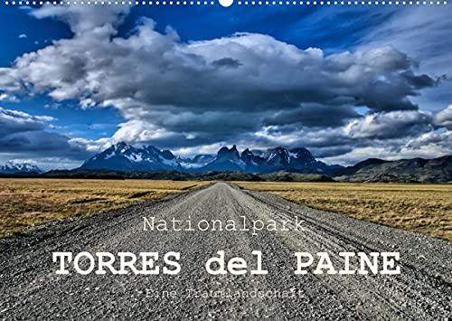 Nationalpark Torres del Paine, eine Traumlandschaft (Wandkalender 2022 DIN A2 quer): Torres del Paine, einer der schönsten Nationalparks...