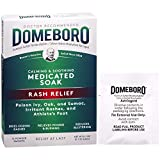 Domeboro Medicated Soak Rash Relief (Burow's Solution) 12 Powder Packets