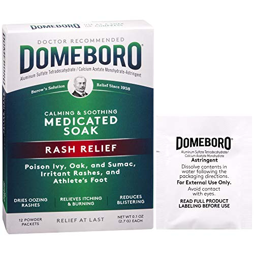 Domeboro Soothing Soak Rash Relief – 12 Packets