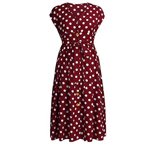 N\P Vestido de mujer con cuello en V falda de mujer con cuello en V falda de mujer
