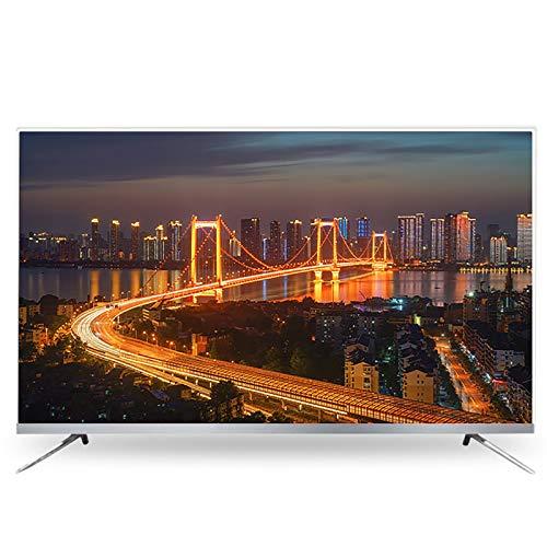 Televisión 4K Smart TV LCD HD de 55/60 Pulgadas, Pantalla de proyección de teléfono móvil, Wi-Fi, Compatible con Varios Dispositivos, para Dormitorio, Sala de Estar