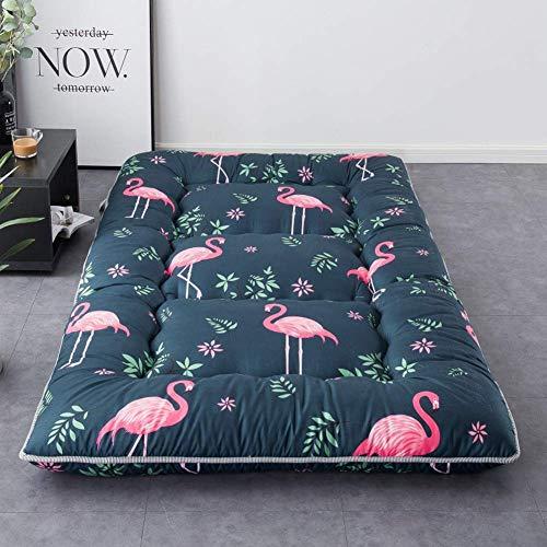 HANHAN Tatami Futon-Kissen für Klappbett, Kinderbett, faltbare Bodenmatte, tragbare Schlafunterlage auf dem Boden
