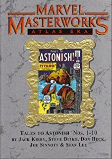 MARVEL MASTERWORKS Volume 57 [Variant Cover, Atlas Era] TALES TO ASTONISH 1-10