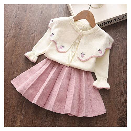 Youpin Vestidos de niña a la moda, ropa de princesa, suéter, costura de red, vestido de bola, vestido de niña, vestido de cumpleaños para niñas de 2 a 6 años (color: morado, talla de niño: 6T)