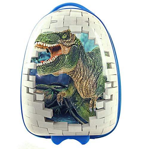 Maleta de Dinosaurio Infantil Equipaje de Manos para niños Bolso de Cabina Viaje