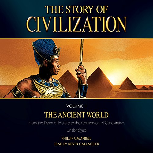The Story of Civilization Volume I  audiobook cover art