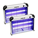 2 Pack Electric Bug Zapper,ANEAR Insect Killer with 20W 2400V Power Grid Mosquito Zapper Trap - Mosquito,Fly,Moth,Wasp,Beetle & Other Pests Killer for Backyard, Patio