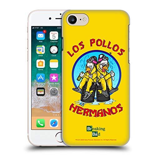 Head Case Designs Licenza Ufficiale Breaking Bad Los Pollos Hermanos 10imo Anniversario Cover Dura per Parte Posteriore Compatibile con Apple iPhone 7 / iPhone 8 / iPhone SE 2020