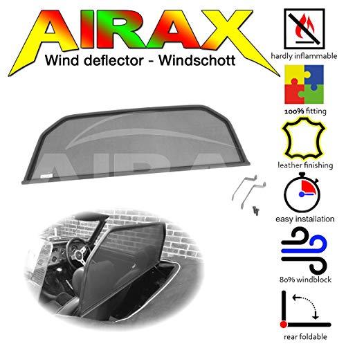 Airax Windschott für Spitfire Windabweiser Windscherm Windstop Wind deflector déflecteur de vent