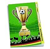 Hausaufgabenheft für Schlaue 'Fußball' / DIN A5