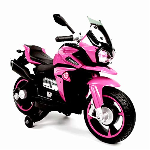 TAMCO Kids Motorcycle Ride On Toy , Electric Power Tricycle with Key Starter, USB Jack, AUX Jack, USB Jack ,Lighting Wheels,Super Easy Driving for Kids 3-5 Years Old