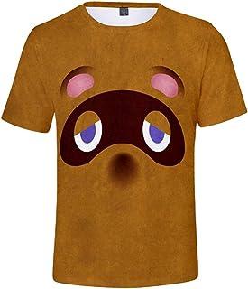 Silver Basic Camiseta de Moda Deportiva para Niños Inspirada en el Popular Videojuego Animal Crossing New Horizons Fashion...