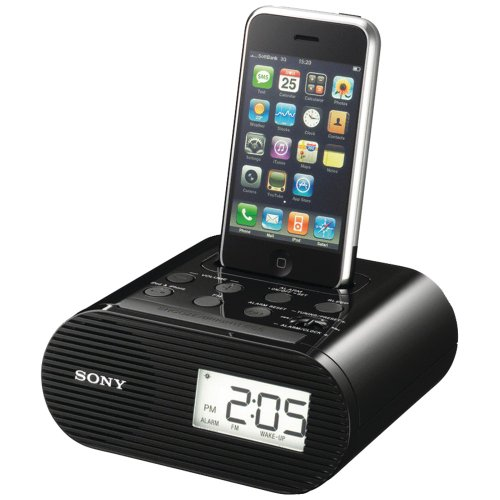 Sony ICF-C05IP 30-Pin iPhone/iPod Clock Radio Speaker Dock