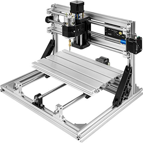 Mophorn CNC Machine 3018 GRBL Control Wood Engraving Machine 3 Axis CNC Router with Offline Controller Milling Machine for Wood PVCs PCBs