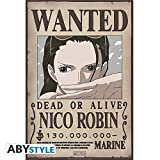 ABYstyle One Piece - Póster de Wanted Robin New (52 x 38)