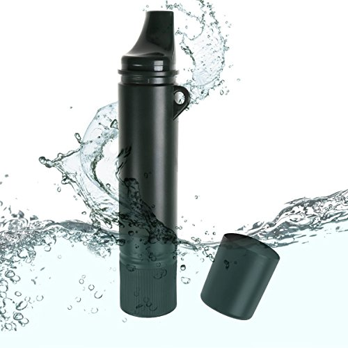 IDEAPRO Camping Hiking Personal Water Filter Outdoor Survival Tool Water...