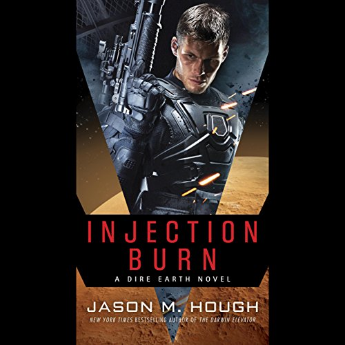 Injection Burn audiobook cover art