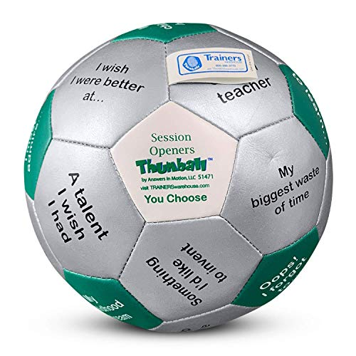 """Session Openers Thumball 6"""" - Icebreaker Game for Training"""