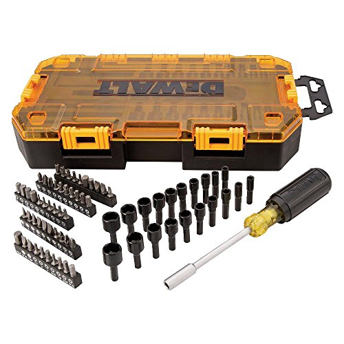 DEWALT Screwdriver Bit Set with Nut Drivers, 71-Piece (DWMT73808)
