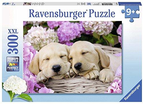 Ravensburger 13235 Süße Hunde im Körbchen