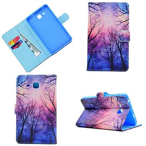 Galaxy Tab A 7.0 Zoll Hülle - Die dünnste und leichteste Schutzhülle Tasche mit Ständer für Samsung Galaxy Tab A 7.0 Zoll SM-T280 / SM-T285 Tablet (2016 Version)[Schmetterling-2]